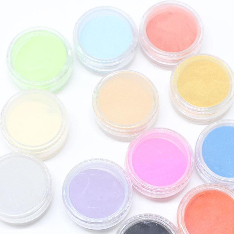 1 Pcs Klar Rosa Weiß 3 Farben Acryl Pulver Kristall Nagel Maniküre Tipps Nail Art 3d Dekoration Builder Polymer Freies Verschiffen Nails Art & Werkzeuge Schönheit & Gesundheit