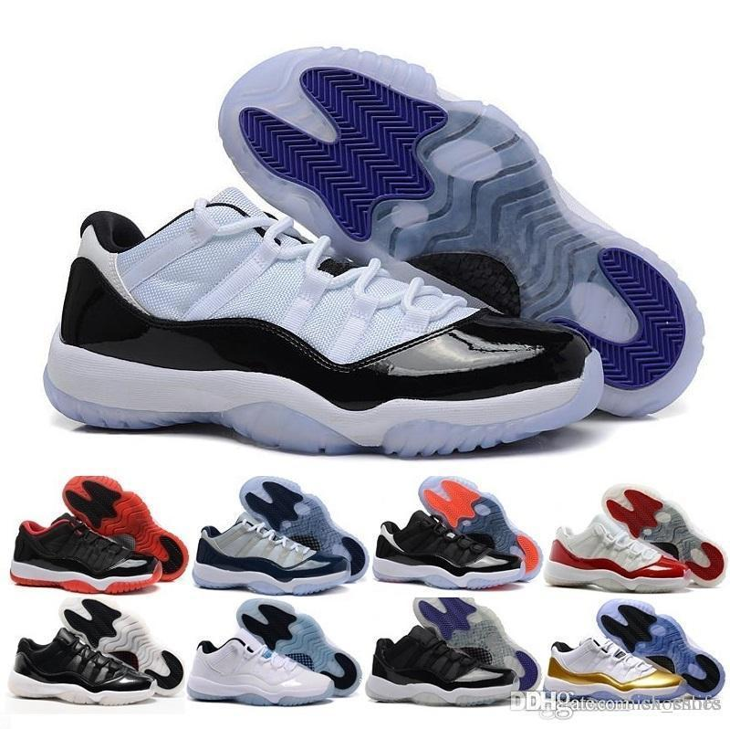 90cbec80cc3 High Quality 11 Space Jam Bred Gamma Blue Basketball Shoes Men Women 11s  Concords 72 10 Legend Blue Cool Grey Sneakers Cute Shoes Mens Shoes Online  From ...