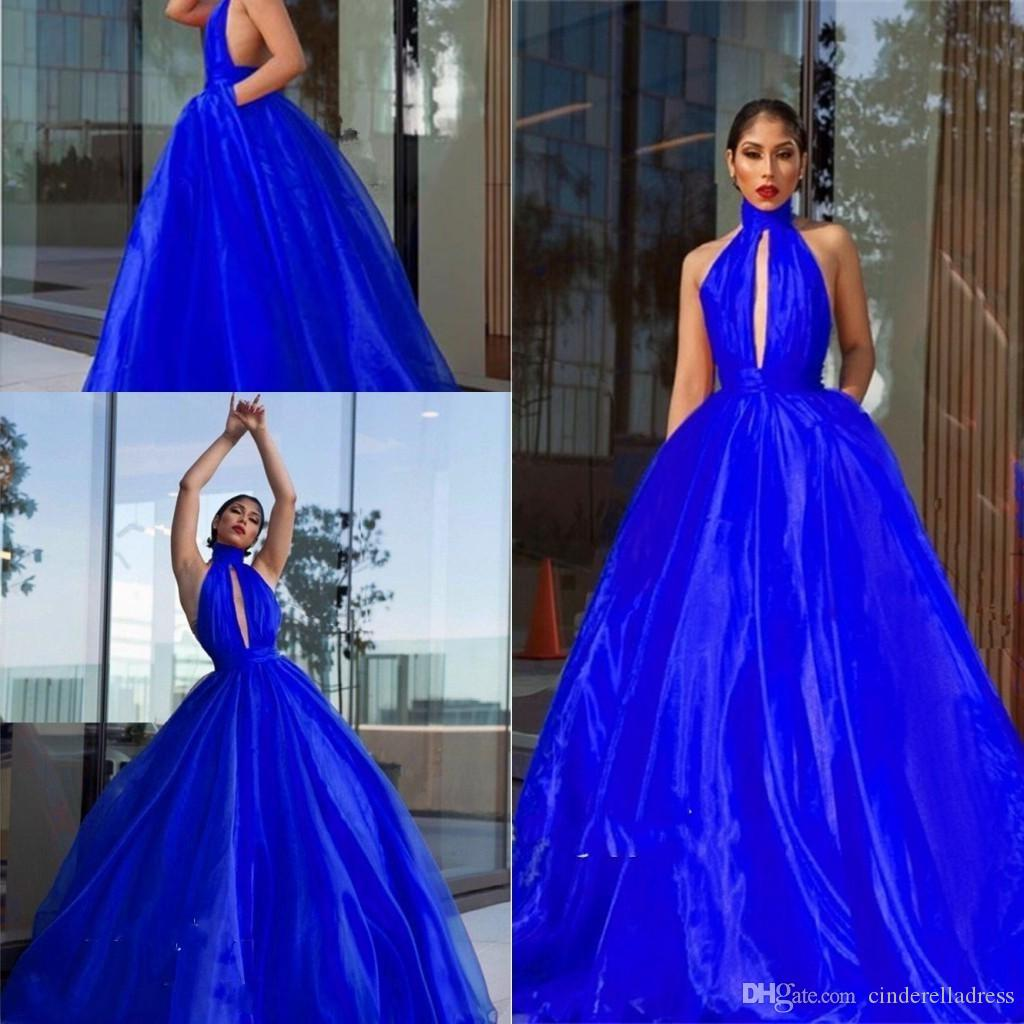 Sexy Backless Black Sleeveless Pleated Tulle Evening Dresses Robe Chic  Bridal Gown 2019 Ball Gown Prom Gowns Sweet 16 Quinceanera Dress Cheap  Evening ... 17c47bc20335