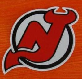 hot sale online e809c 35170 good New Jersey Devils hockey front chest big size Team Logo Embroidered  Patch badge Approximately size 10 inch * 10 inch