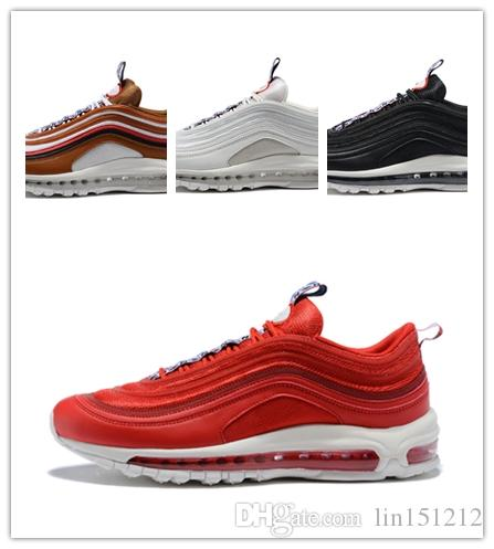 Mens Fashion Cheap Running Shoes SE Perfect Illusion Obsidian Sail Trainers  97 TT PRM PULL Sneakers Brown Gym Red Tennis Shoes Mens Fashion Cheap  Running ... 4e7a5090c