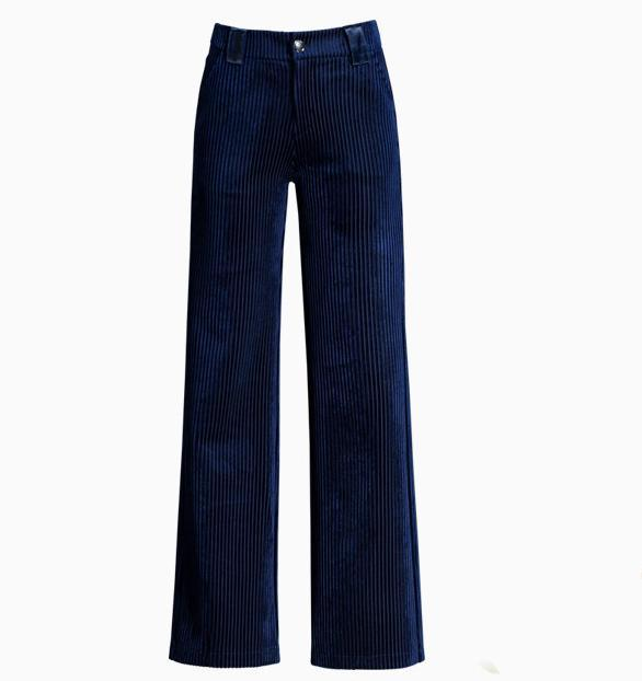 16d2194bdd Compre Pantalón Recto Mujer Otoño E Invierno 2018 Pantalón De Estilo Nuevo  Con Terciopelo