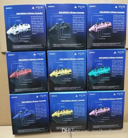 Controladores de PS3 Controlador inalámbrico Controladores de juegos Bluetooth Doble descarga para Playstation 3 PS3 Joysticks gamepad