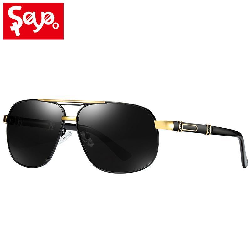 4148051bc48 SAYLAYO Fashion Square Outdoor Polarized Sunglasses Men Vintage Sun Glasses  100% UV400 Driving Fishing Shades For Women Round Sunglasses Cheap  Eyeglasses ...