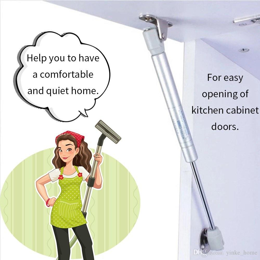 Furniture Home Kitchen Cabinet Door Hinge Open Close Lift Stretch Hydraulic Gas Lift Strut Support Rod