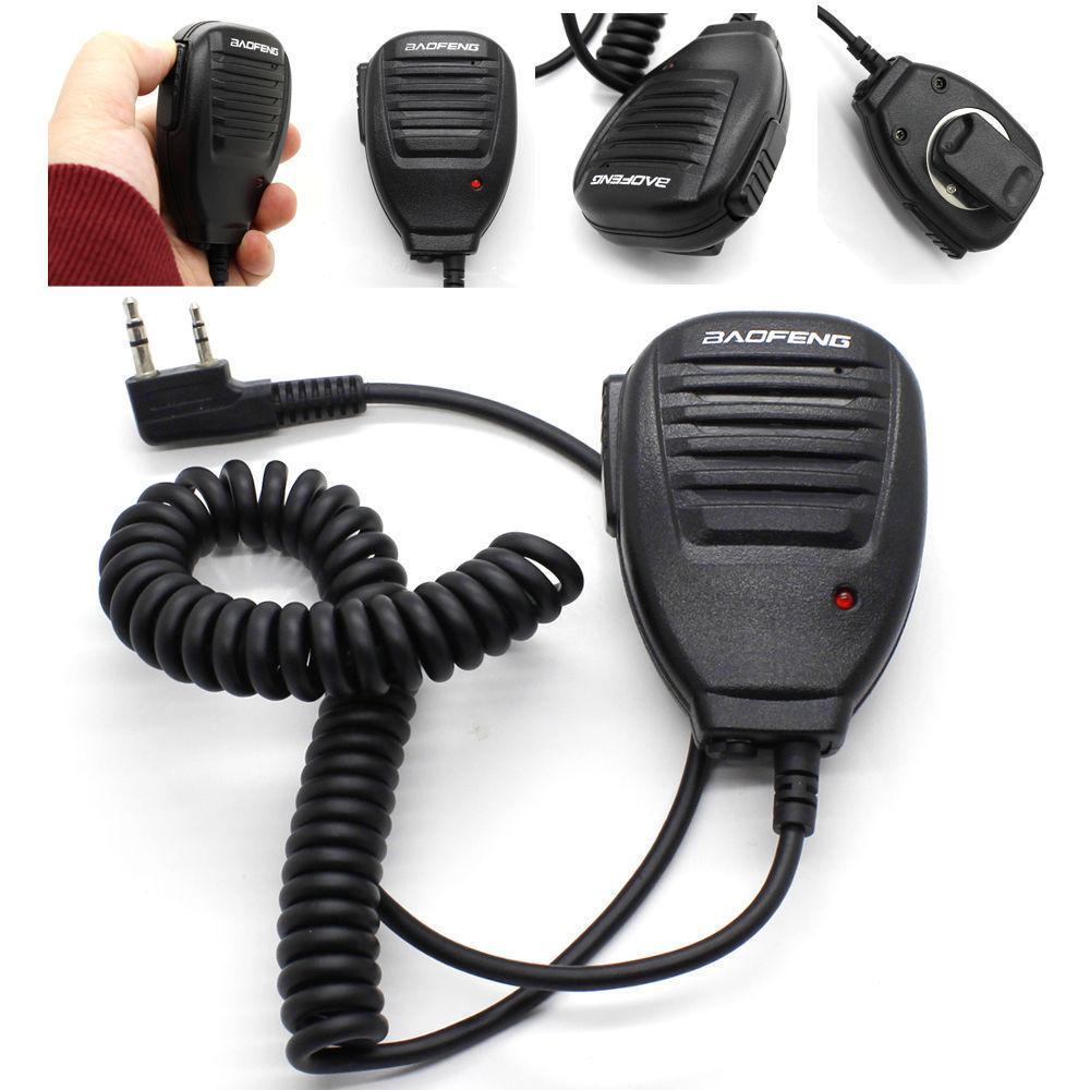 Baofeng UV5R microfono portatile altoparlante del MIC Baofeng Radio portatile UV5R BF-888s BF-UVB3 Inoltre Walkie Talkie