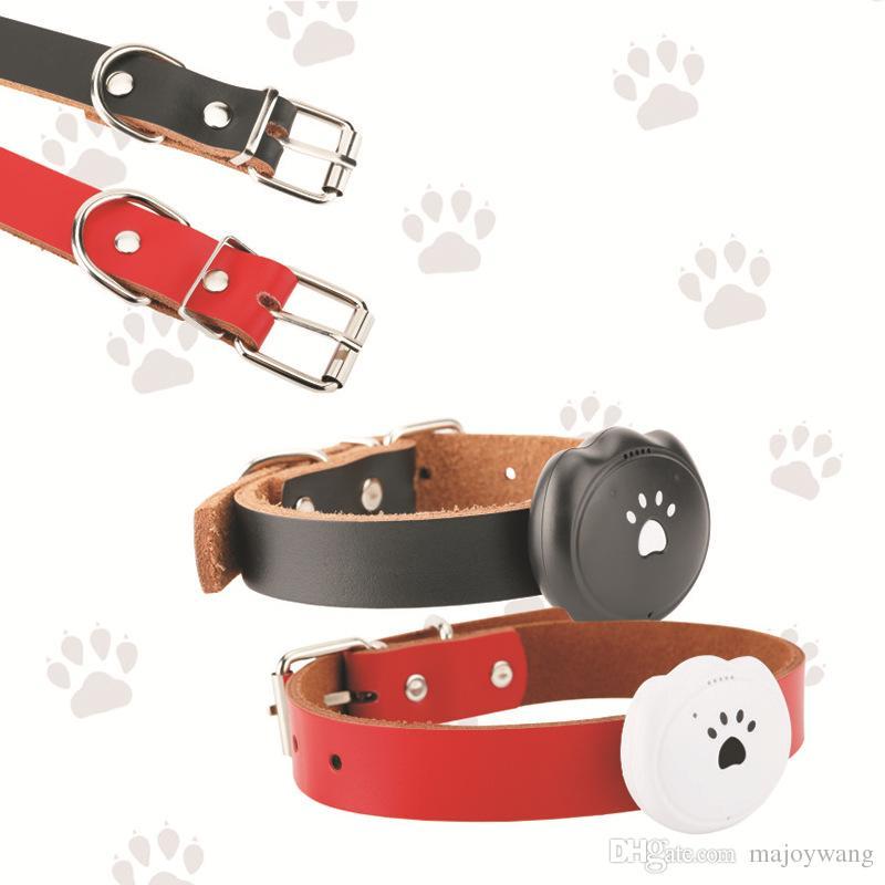 c392b9ff6 Compre Nuevo Mini Gato Collar De Perro GPS Localizador De Mascotas  Inteligente Rastreador Impermeable Rastreador Anti Perdido / Blanco Negro /  Material ABS, ...