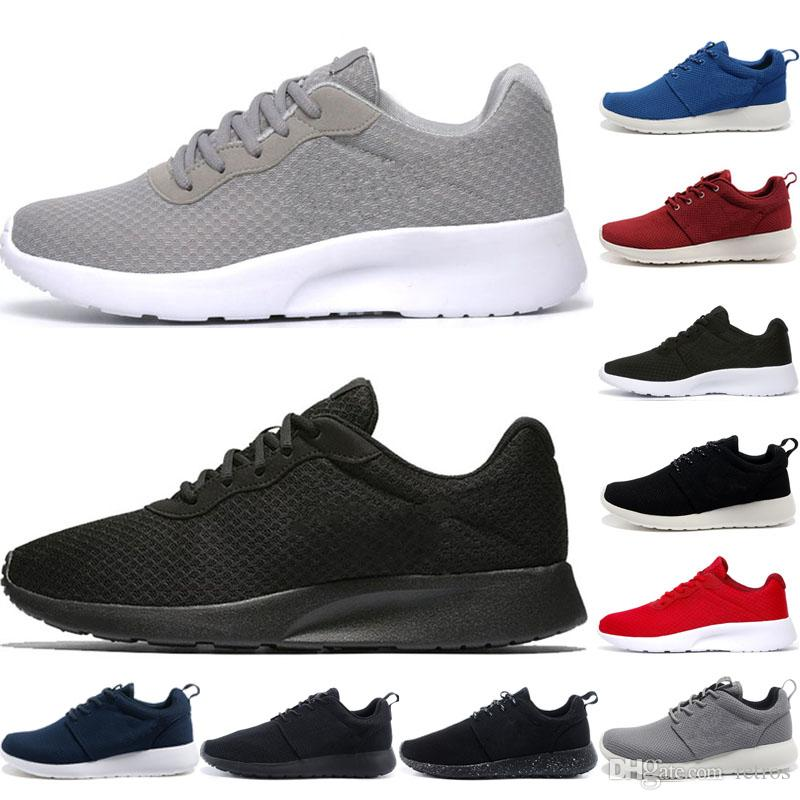49dea25cc0ac8 Acquista Nike Air Roshe Run One Original 1.0 London Olympic Scarpe Da Corsa  Uomo Donna 3.0 Tanjun Scarpe Sportive Donna Mens Triple Bianco Nero Scarpe  Da ...