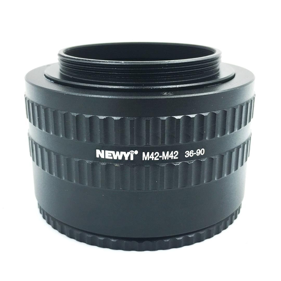 dc157d52f0 2019 NEWYI M42 M42 Mount Lens Adjustable Focusing Helicoid 36 90Mm Macro  Extension Adapter From Knite08