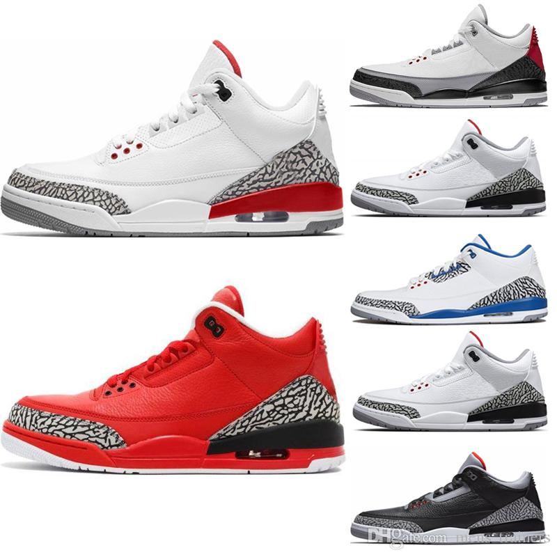 13922b0666607c Hot Top 3s Basketball Shoes QS Katrina Grateful Tinker Black Cement ...