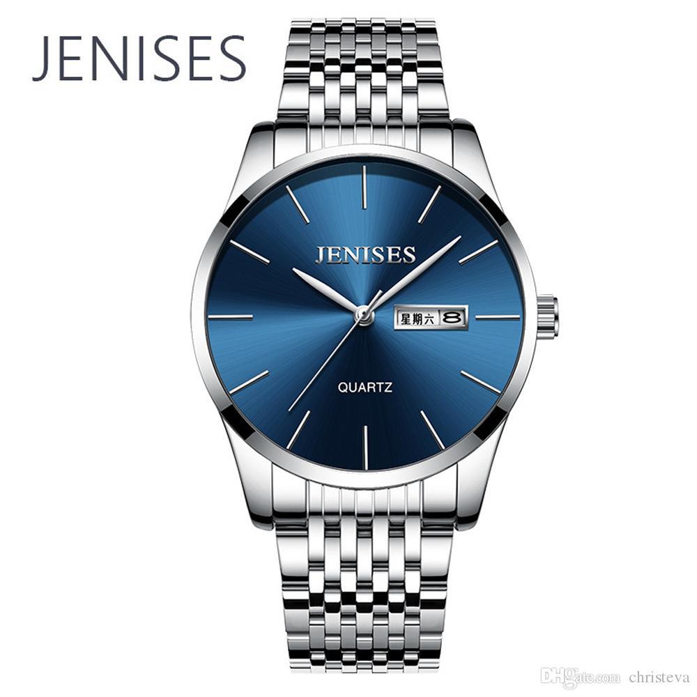 20dbdd8ff1fa Compre Relojes Para Hombre De Primeras Marcas De Moda De Lujo Reloj De  Cuarzo Correa De Acero Inoxidable Personal De Negocios Reloj De Pulsera Para  Hombre ...