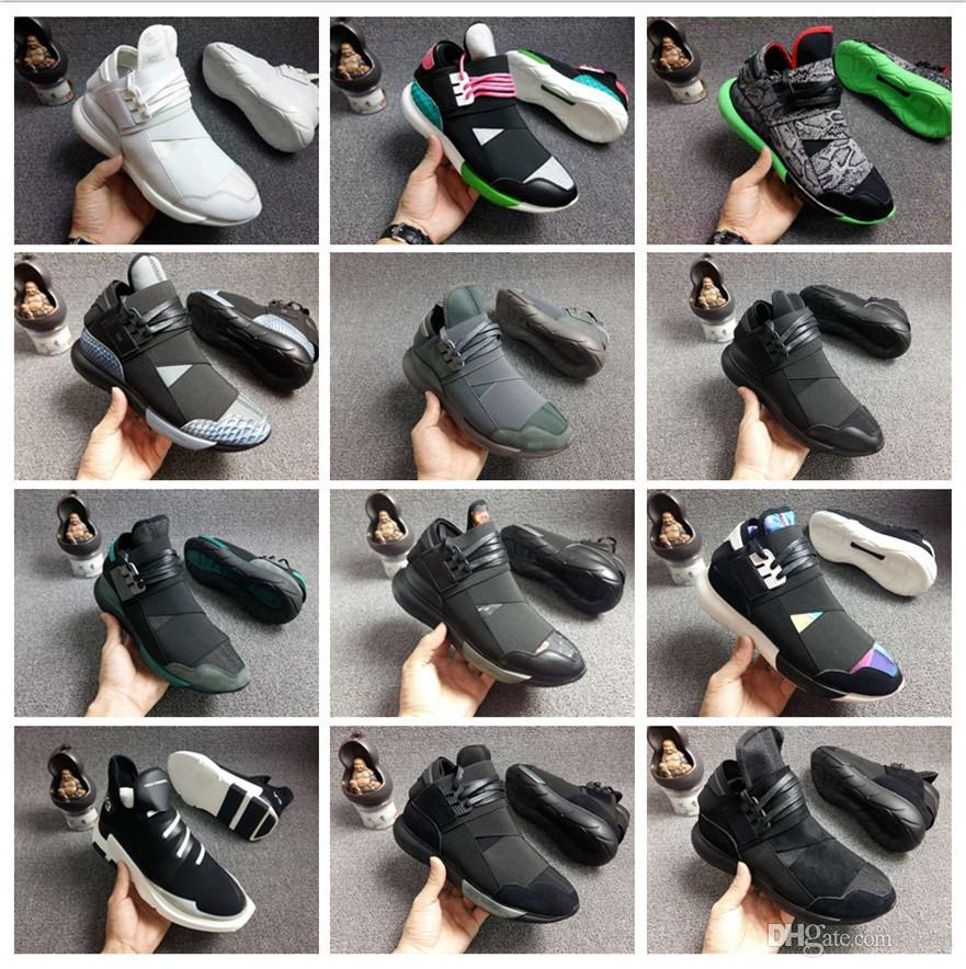 e5bfd5806 Wholesale Y 3 QASA RACER Hight Casual Shoes Sneakers Breathable Men And Women  Casual Shoes Couples Y3 Shoes Size Eur36 44 Dress Shoes Wedge Shoes From ...