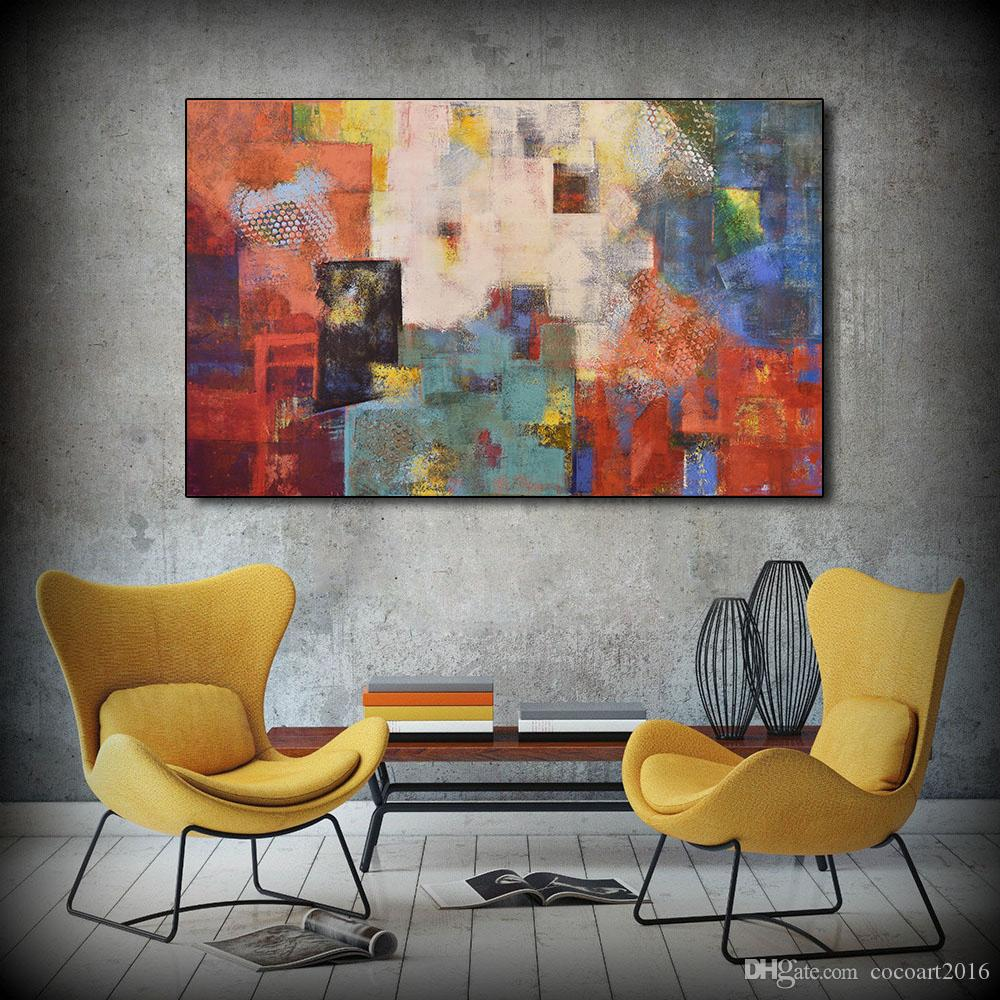 Groovy 1 Pcs Abstract Posters And Prints Wall Art Blood Sweat Canvas Painting Wall Pictures For Living Room Color Decoration No Frame Home Interior And Landscaping Staixmapetitesourisinfo