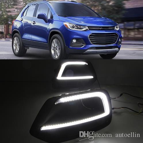 Drl For Chevrolet Trax 2017 2018 Daytime Running Lights Fog Lamp