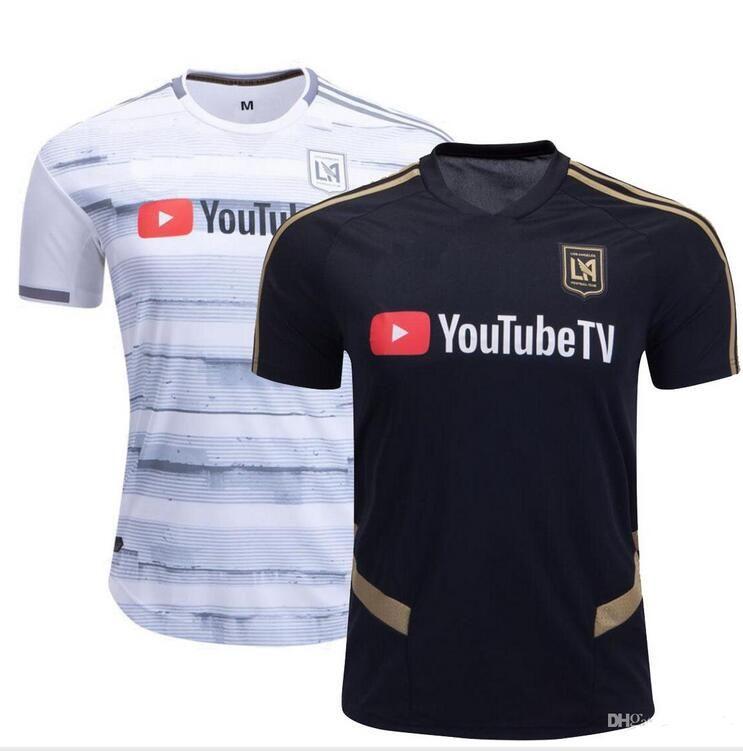 best sneakers 3b677 90dbb 2019 2020 NEW Arrived LAFC Carlos Vela Soccer Jersey 19 20 Home ZELAYA  GABER ROSSI CIMAN ZIMMERMAN Black Parley Los Angeles Football Shirts