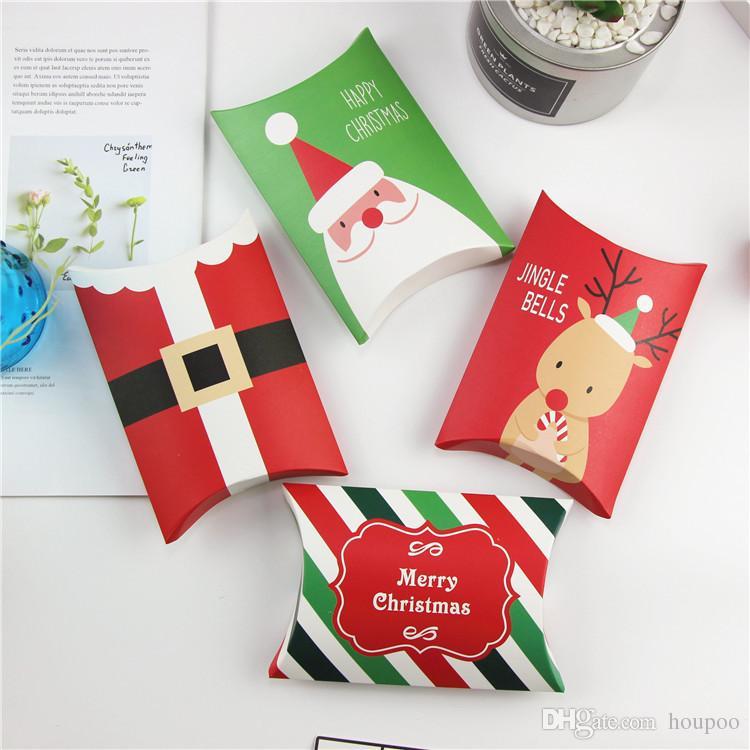 Grosshandel Gross Verlost 4 Stile Weihnachten Box Kissenbezug Geformte