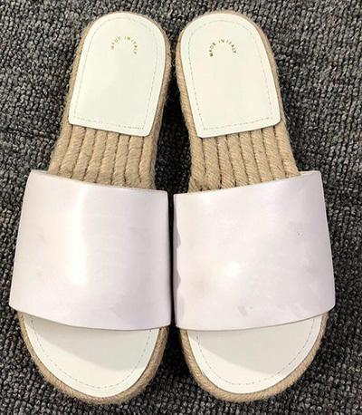 Espadrilles Designer Chaussures Femmes Casual Chaussures Femmes Designer Sandal Mode Nouveau Style Sandale Taille 35 - 41