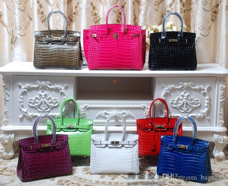 Genuine Leather Lock new fashion snake trend lock button women fashion bags handbag shoulder bag