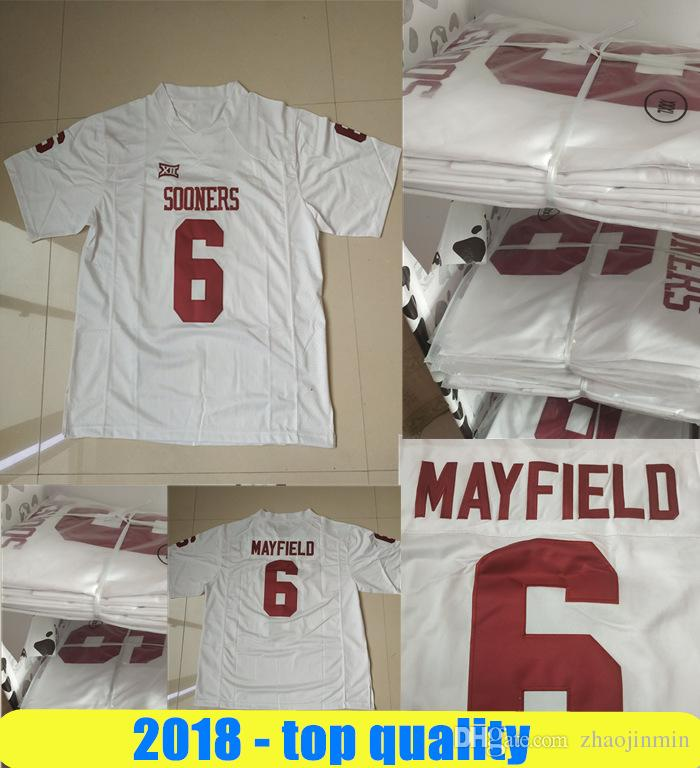 reputable site f6f56 605a9 2018 New Jerseys 26 Saquon Barkley 6 Baker Mayfield 5 Blake Bortles 20  Jalen Ramsey 27 Leonard Fournette 8 Lamar Jackson Stitched