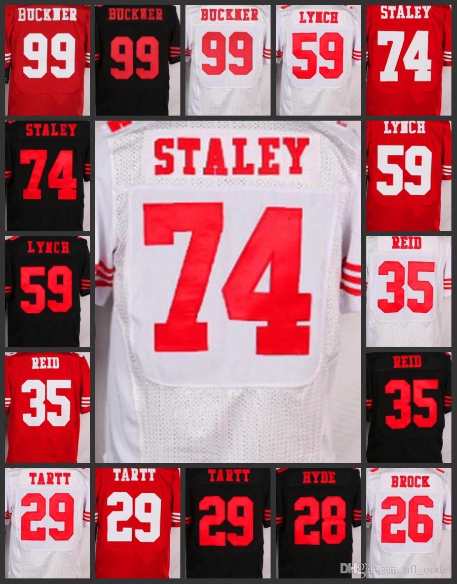 0fd87d4fb ... where can i buy 2018 top men san francisco 99 deforest buckner women 49ers  jerseys 74