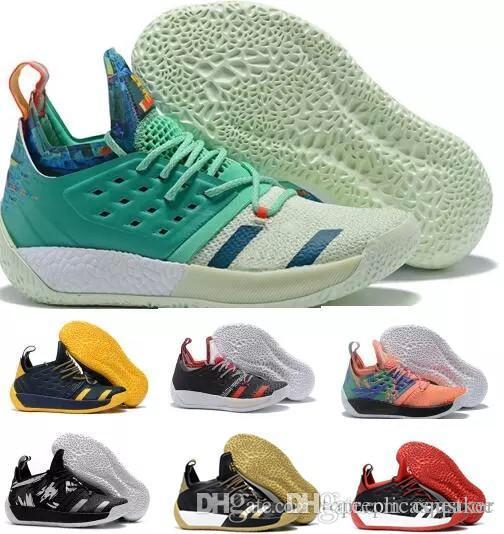2529bb81434b 2018 New James Harden 2 Vol.2 Basketball Shoes James Men Harden 2 ...
