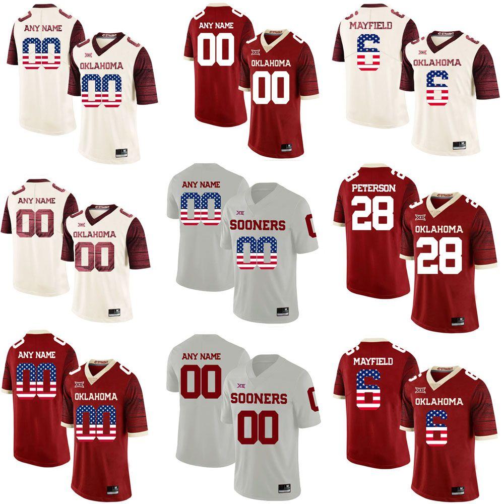 custom sooners jersey