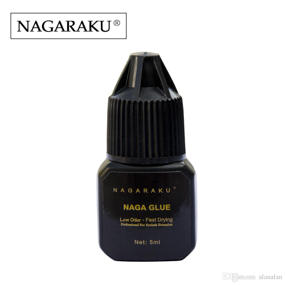 Nagaraku 5 Ml Eyelash Extension Glue Professional Use Only Fast
