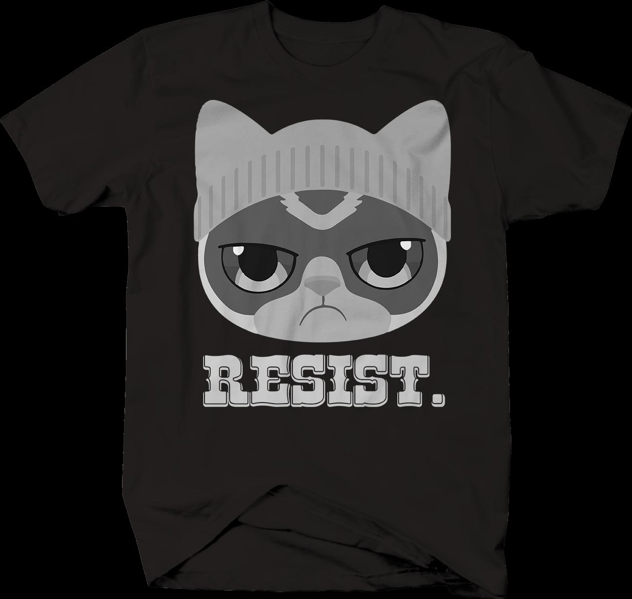 Resist Pussy Cat Hat Trump Protest T Shirt Classic Quality High Size  Discout Hot New Tshirt Retro Tees Weird T Shirts From Sevencup, $16.24|  DHgate.Com