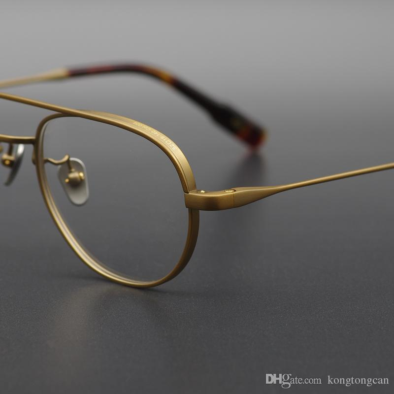 1aed23926355e ... OG Chave Óculos Pure Titanium Acetato Quadro Mulheres Homem Marca  Design Caixa Original E Caso Prescrição Lens De Kongtongcan,  45.69    Pt.Dhgate.Com