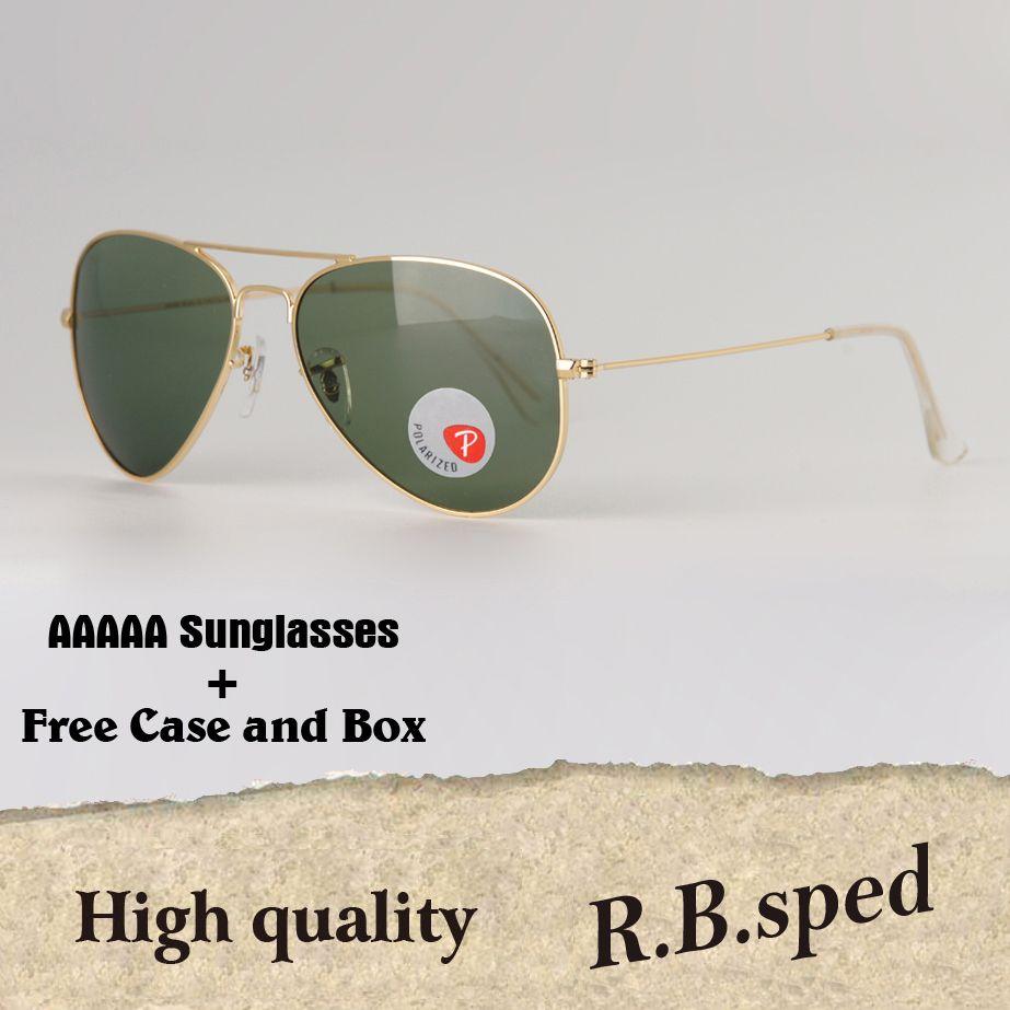 ace450ed729 Luxury Brand High Quality Women Men Sunglasses Brand Designer Metal Frame  Plastic Polarized Lens Pilot Sun Glasses Uv400 Goggle Retail Box John Lennon  ...