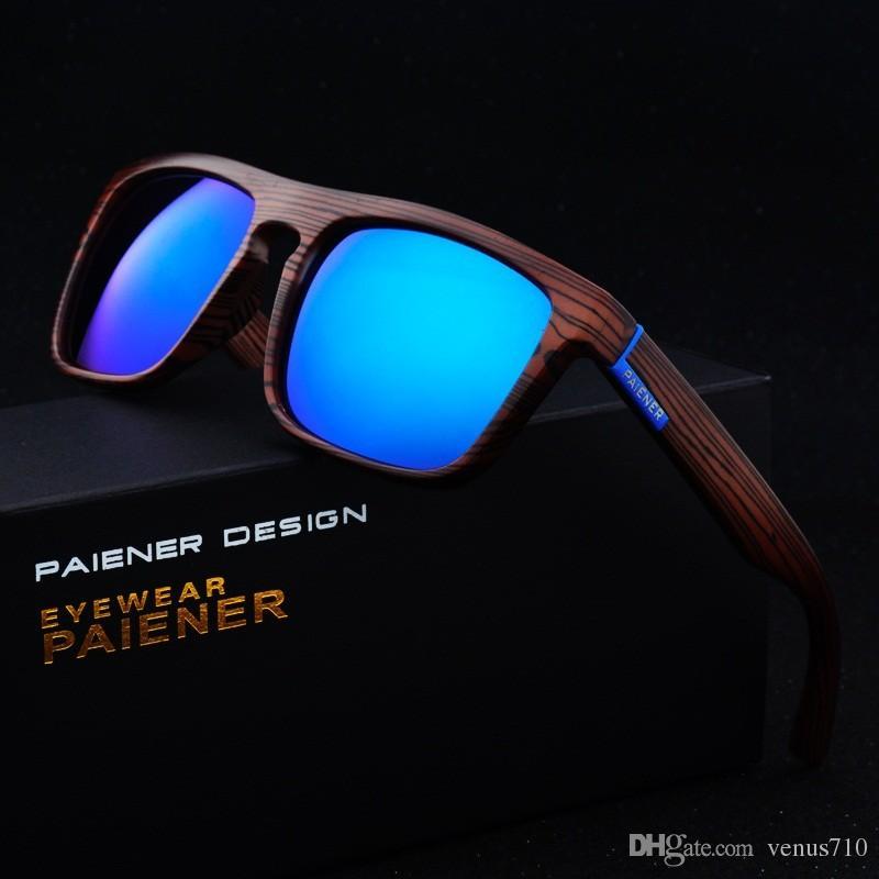 823766910d2c33 Retro Imitation Bamboo Wood Sunglasses Men Women Designer Sport Goggles  Gold Mirror Sun Glasses Shades Lunette Oculo Circle Sunglasses Glass Frames  From ...