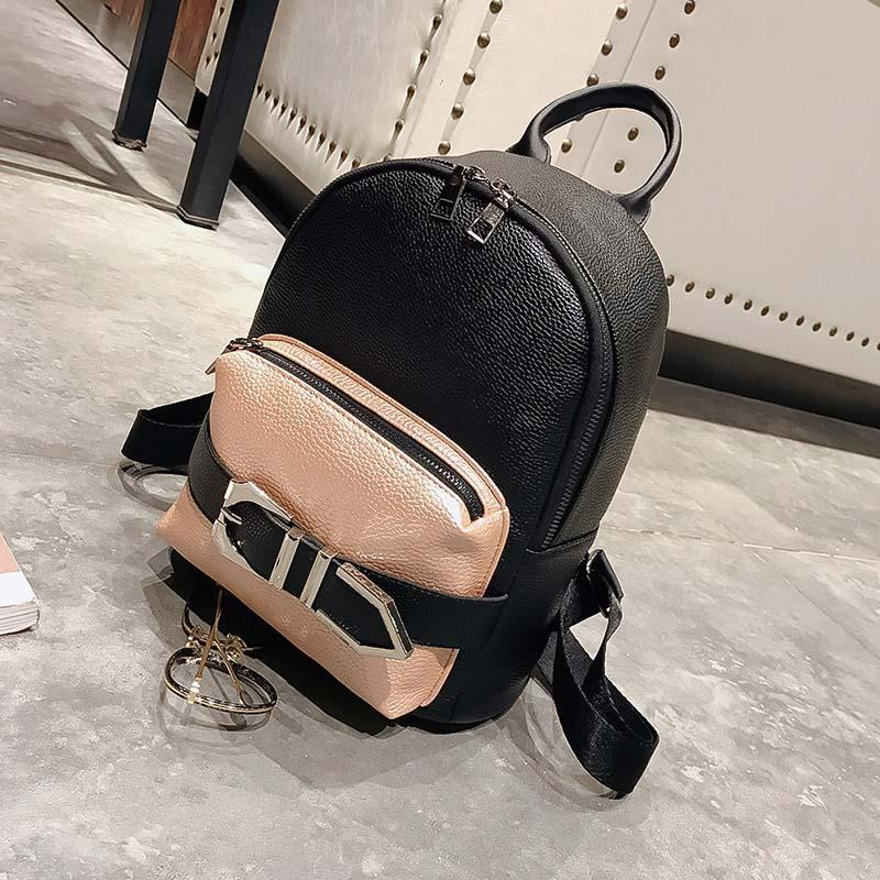 0bce8e655c DALFR Vintage Women Backpack PU Leather 2018 Fashion Girl School Bag For  Teenagers High Quality Mini Backpack Female Gregory Backpacks Army Backpack  From ...