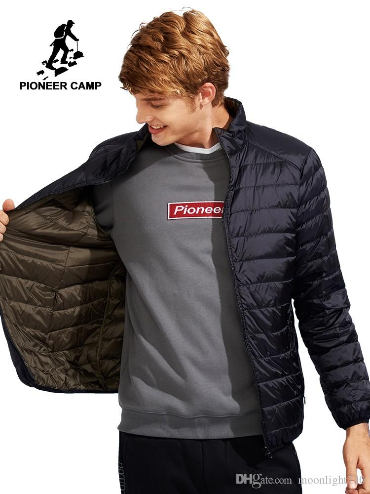 b8a0c3d892 2019 Pioneer Camp Reversible Down Jacket Men Clothing Ultra Light Packable  Duck Down Coat Male Ultra Thin Top Quality From Moonlight710, $80.11 |  DHgate.Com
