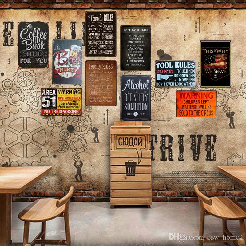 D Coration De Fer R Tro Bar Maison Ktv D