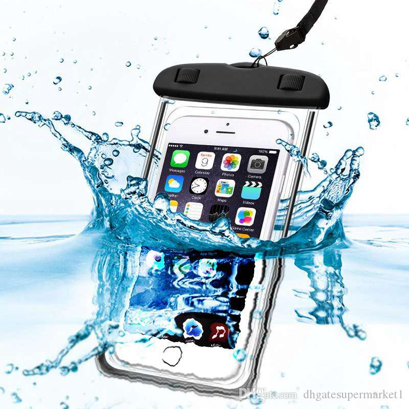 big sale eb251 4f89f Universal For Iphone 7 6 6s Plus Samsung S9 S7 Waterproof Case Bag ...