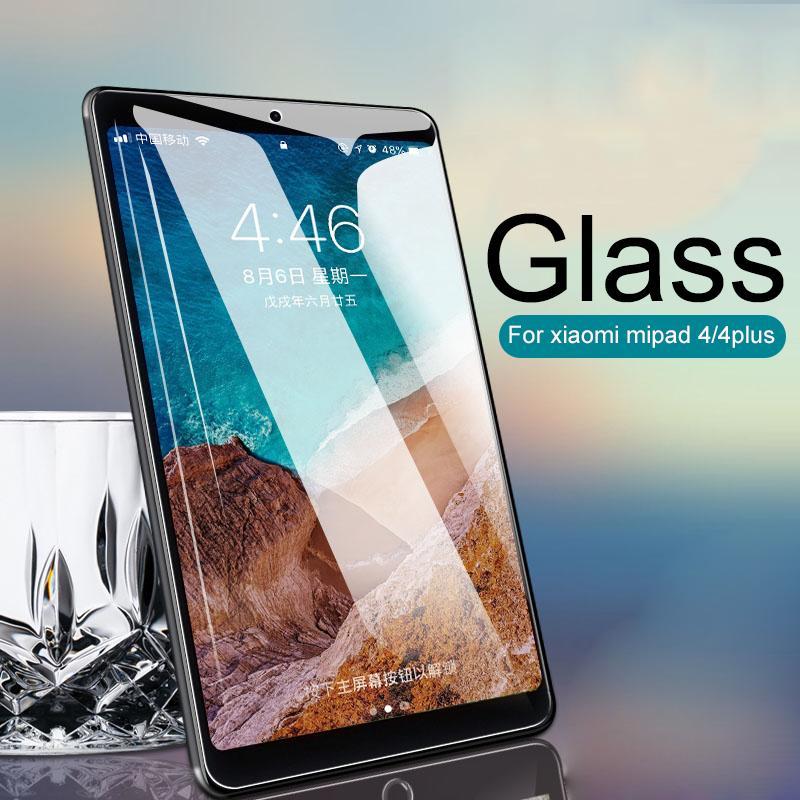 Protective Glass For Xiaomi Mi Pad 4 plus Screen Protector Tempered Glass  For Xiaomi MiPad 4 Tablet 4plus 10 1 8 inch Film