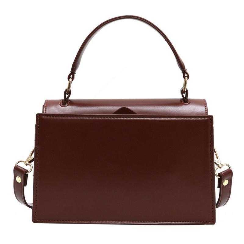 9482f3381151 Fashion Elegant Vintage Pu Leather Messenger Bag Handbags Shoulder Crossbody  Hand Bags Portable Small Square Bag Women Handbag Messenger Bags Crossbody  Bags ...