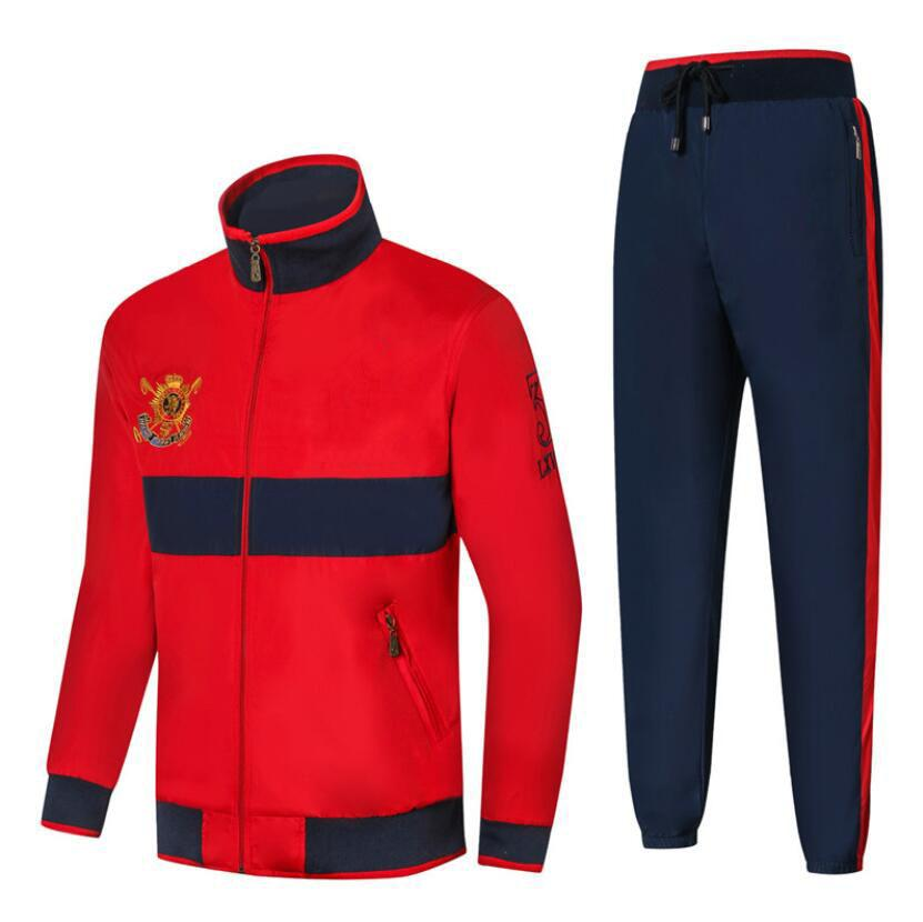 53630a7c30c5 2019 Mens Designer Tracksuits Running Sports Coat+Pant Spring Autumn Zipper  Cool New Fashion Long Sleeve Sweat Suits From Clothingsupreme