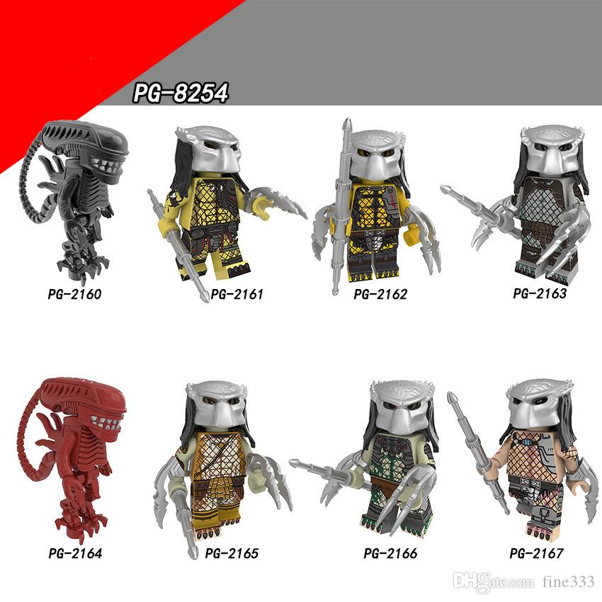 Mini Figures Glaxy War Building Blocks Super Heroes The God of War Movie Series Drax The Destroyer Figures For Children Model Toys PG8254