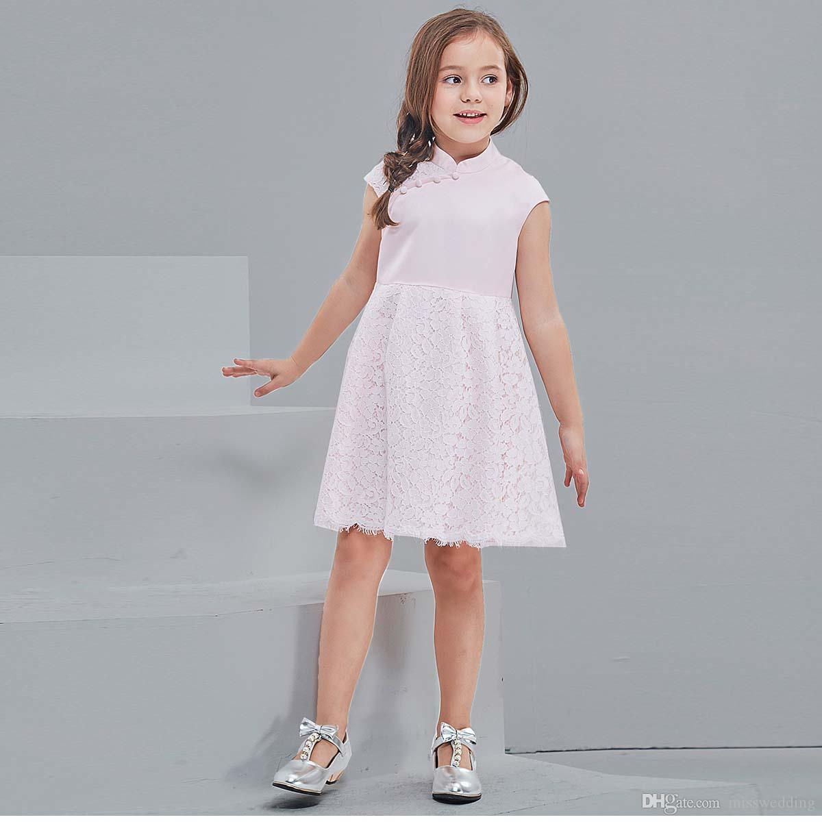 5ba593643f8 Anagrassia Lace Leotard And Champagne Ivory Tulle Skirt Flower Girl Dress