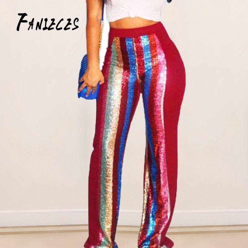 4e66f07bb 2019 Slim Stretch Flare Pants Women New Fashion Leggings Street ...