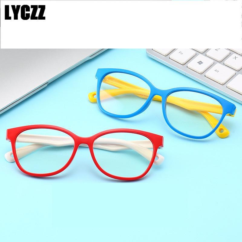 Compre LYCZZ Crianças Armações De Óculos De Computador Óculos De Proteção  Anti Azul Ray Bloqueio Óculos UV Proteção Acessórios Criança Menina Menino  Óculos ... fd15d1937a