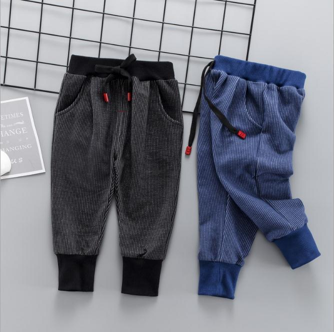 d95ecaaaf Baby Boys Pants Cotton Boys Casual Long Trousers Kids Clothing Pants ...