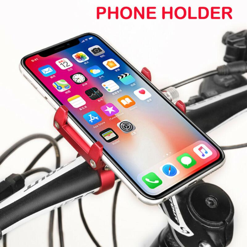 Aluminum Motorcycle Bike Bicycle Cell Phone Holder Mount Handlebar GPS Universal