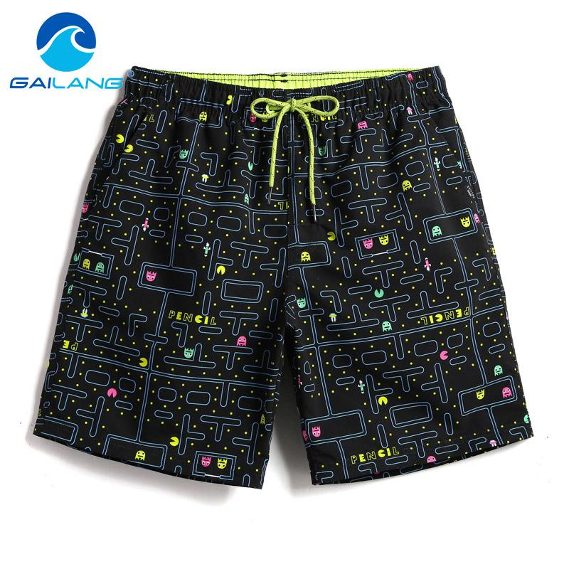 Gailang Marke Männer Strand Shorts Board Boxer Trunks Shorts Boardshorts Herrenmode Bademode Badeanzüge Casual Active Bottoms Neu