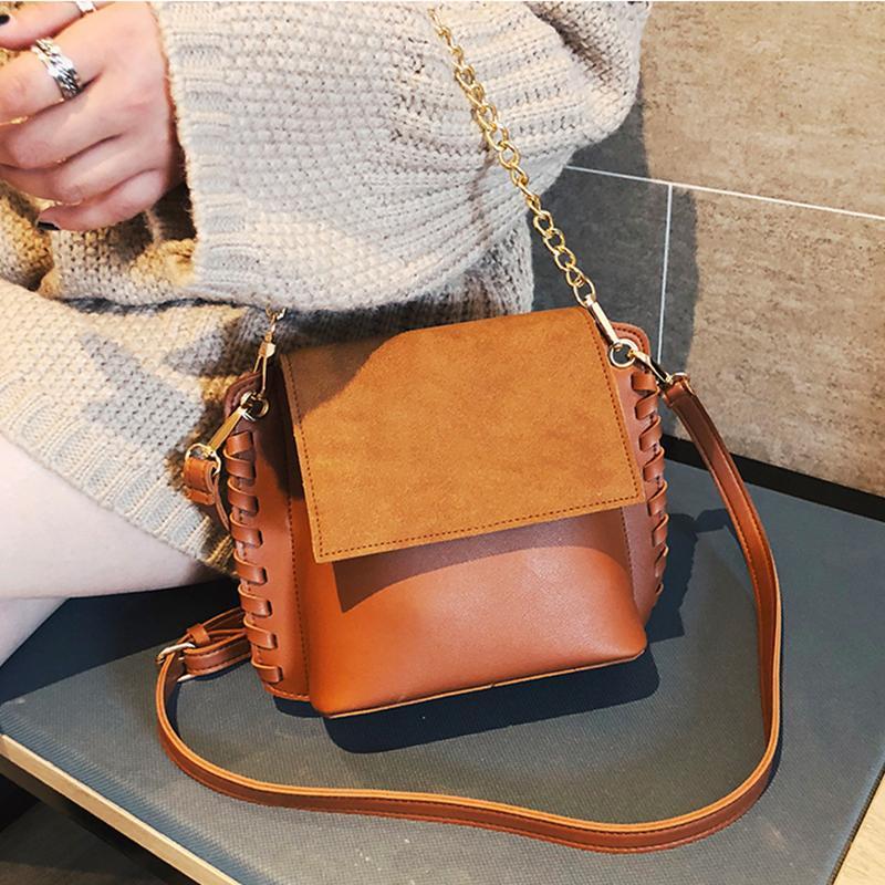 3e296a8c1f748 Small Handbags Women Suede Leather Shoulder Mini Crossbody Bag Sac A Main  Femme Ladies Messenger Bag Long Strap Female Clutch Leather Purse Womens  Purses ...