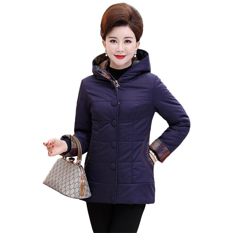 8013a36c517 2019 New Winter Women Warm Jackets Coats Basic Long Parka Outerwear ...