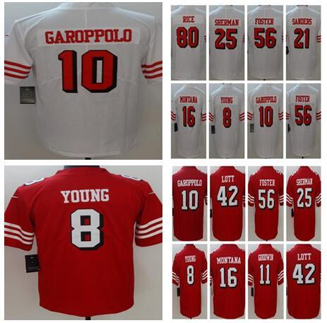5a11d6917 2018 New Best Quality 10 Jimmy Garoppolo San Francisco 49ers Jersey ...