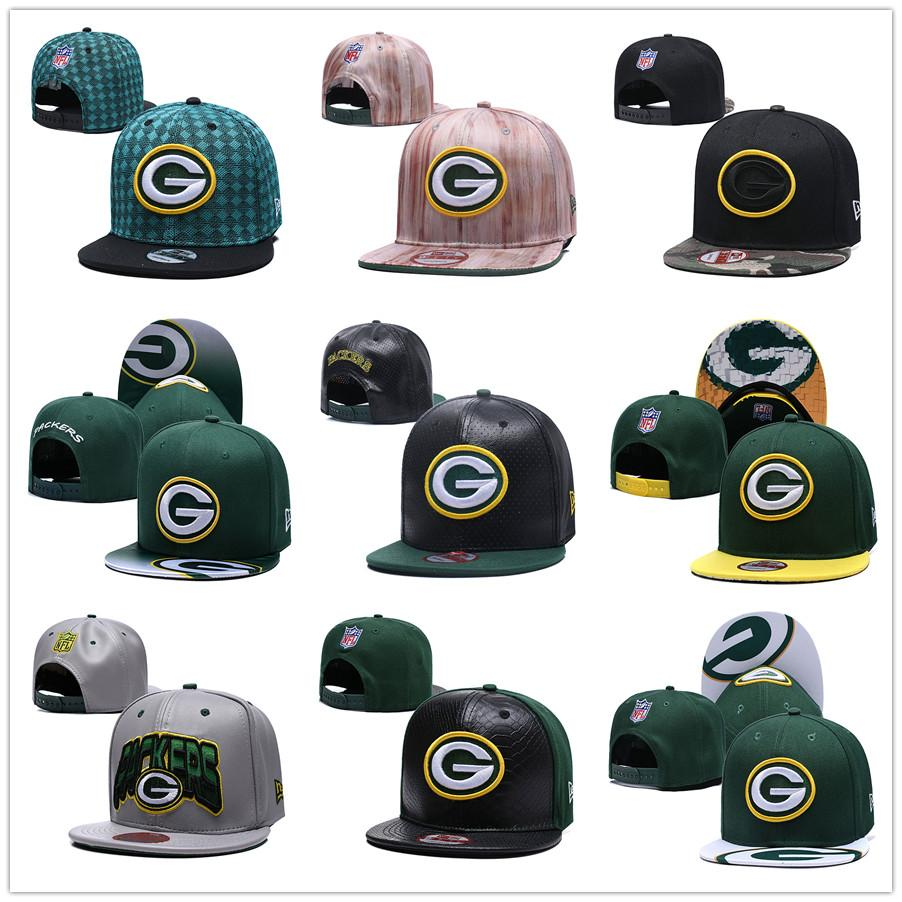 f9129339 Mens Aaron Rodgers Sport Gear Green Bay Hat Packers Adjustable Size Cap  Custom High Quality Stitched American Football Jersey