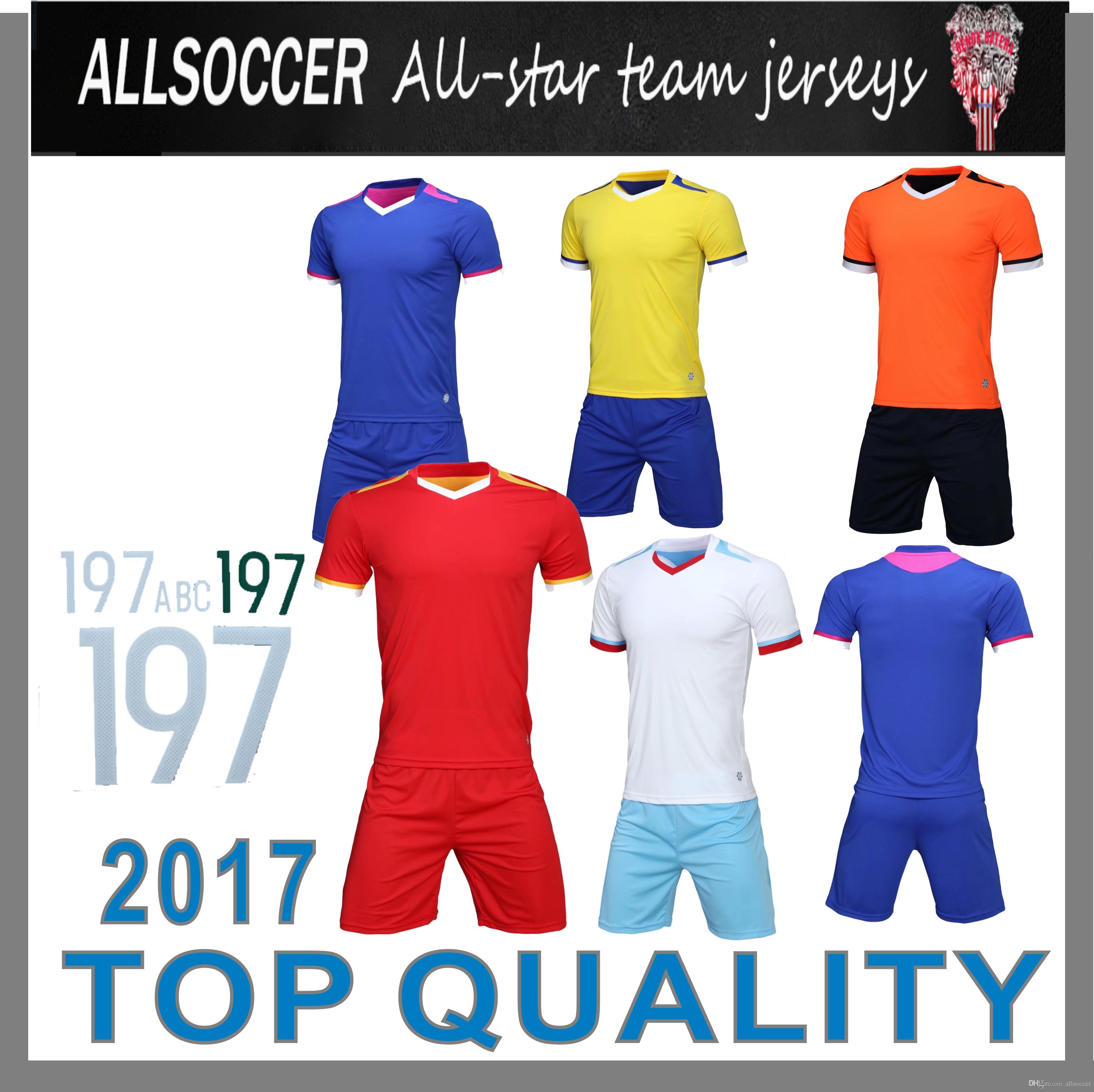 1191626a20b63 Compre 807 1609 !! Camisas De Treino De Futebol